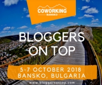 JOIN US FOR #BLOGGERSONTOP – TRAVEL BLOGGERS WEEKEND IN BANSKO, BULGARIA (5-7.10)